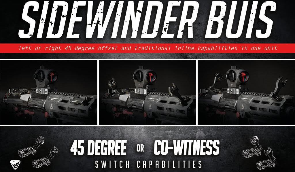 Strike Industries Sidewinder BUIS
