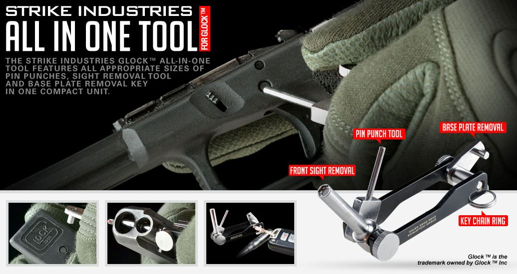 Strike Industries All-In-One Tool for Glock Pistol