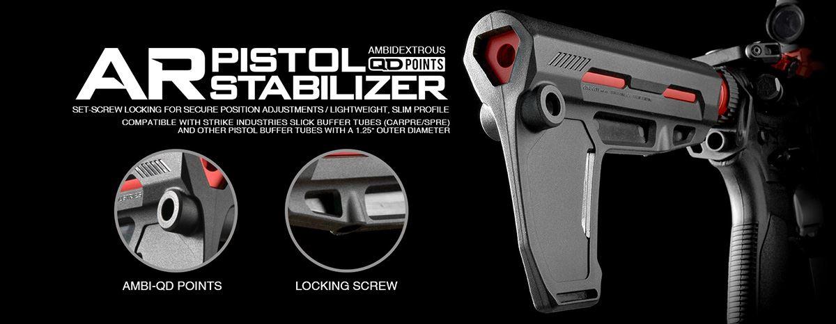 Strike Indestries AR Pistol Stabilizer