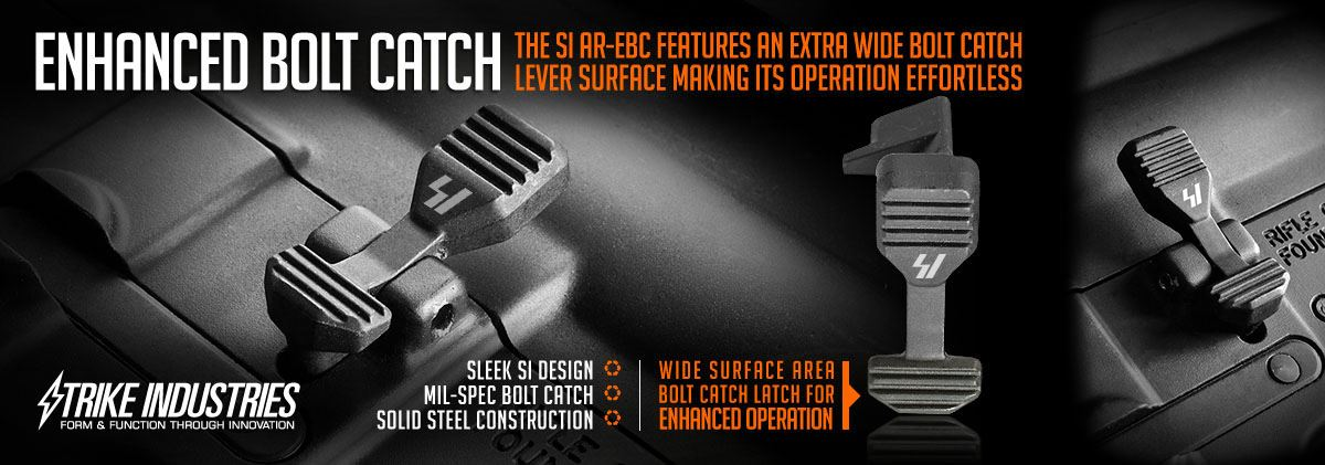Strike Industries Enhanced Bolt Catch