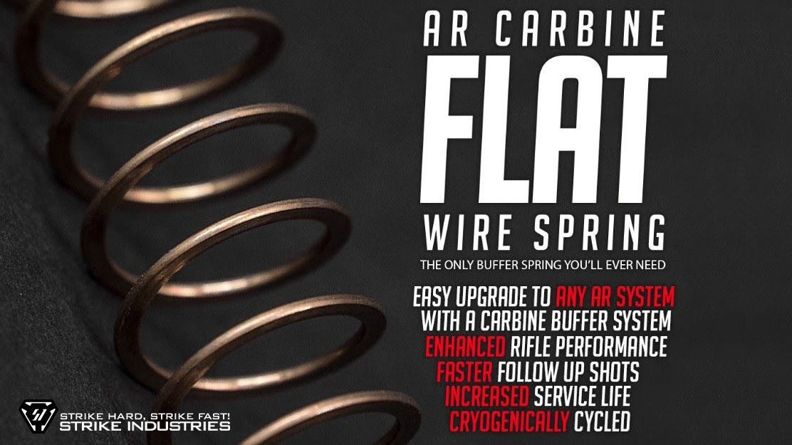 Strike Industries Flat Wire Spring