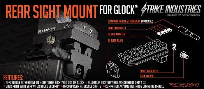Strike Industries Glock Rail Mount