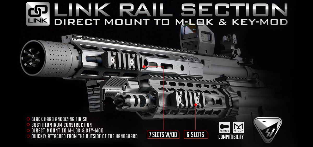 Strike Industries LINK Rail Section