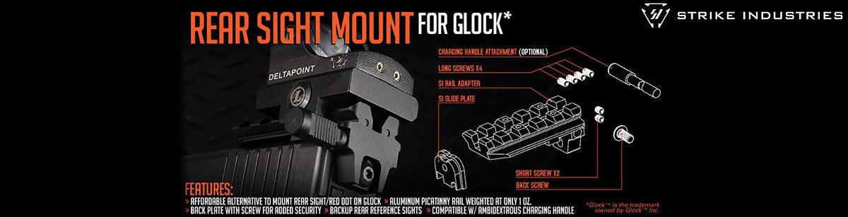 Strike Industries Rear Sight Rail