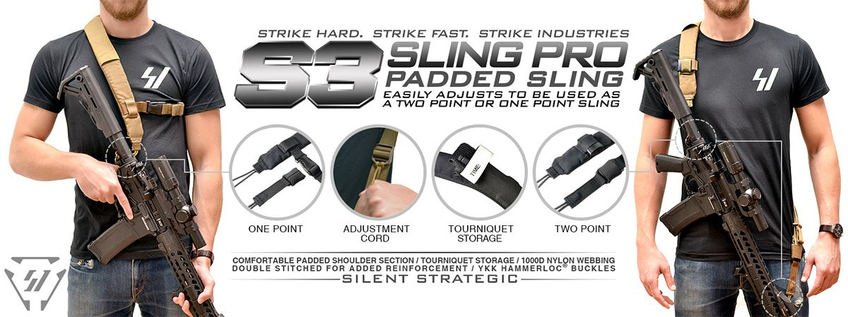 Strike Industries S3 Sling Pro Padded Sling