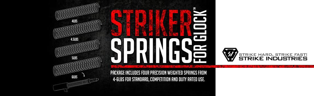 Strike Industries Striker Spring Pack for Glock