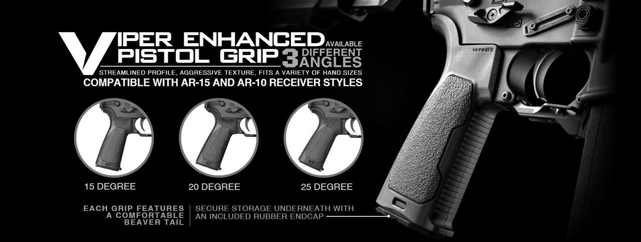 Strike Industries Viper Enhanced Pistol Grip
