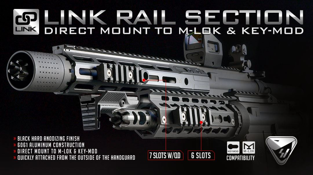 Strike Link Rail Section