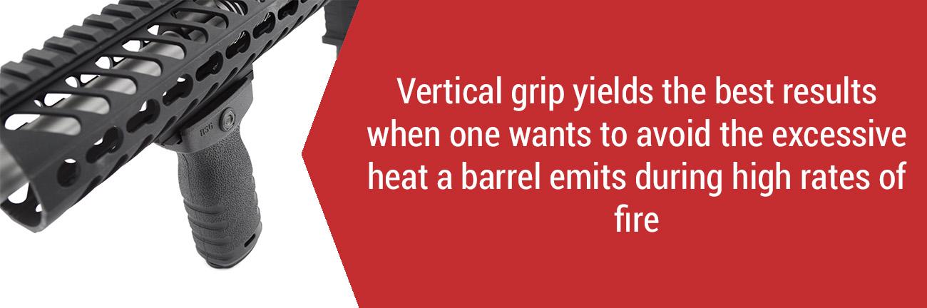 Vertical Grip on AR-15