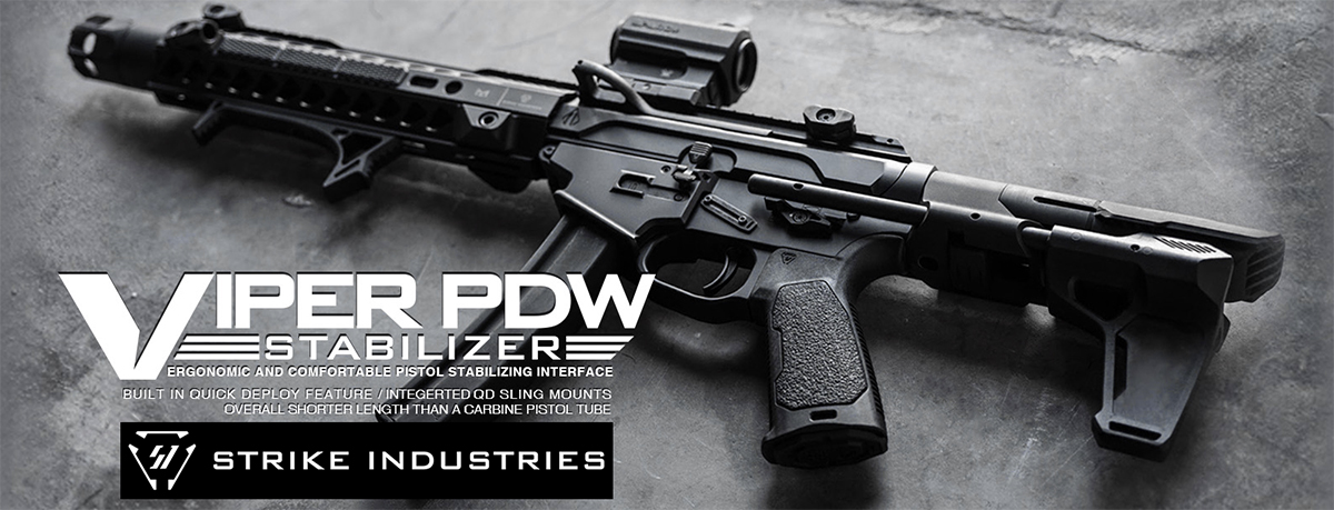 Strike Industries Viper PDW Stabilizer