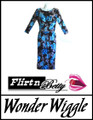 Wonder Wiggle Blue Flowers