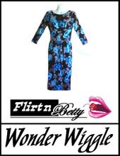 Wonder Wiggle Blue Flowers