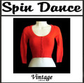 Bolero Jumper Red