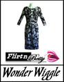 Wonder Wiggle Rose Swirls
