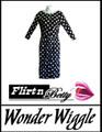 Wonder Wiggle Black/White Polka Dots