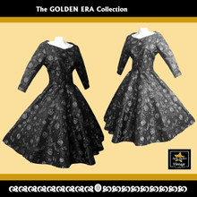 Golden Era Collection 3/4 Sleeve Dress