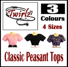 Classic Peasant Tops
