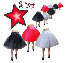 Star Budget Petticoat Red