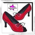 Burlesque Latin Dance Shoes - wow !!!