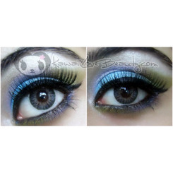 Berryholic Grey CM955 colored contact lenses.