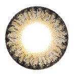 Geo Magic Color Berry Holic Brown circle lens design detail.
