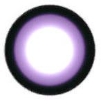 Geo WIA21 Sakura Violet circle lens design detail.