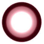 Geo WIA27 Sakura Pink circle lens design detail.