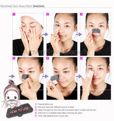 How to use Lioele Blackhead Zero Nose Patches