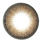 Circle lens detail, Dizon Eye Brown.