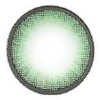 Circle lens detail, Dizon Eye Green.