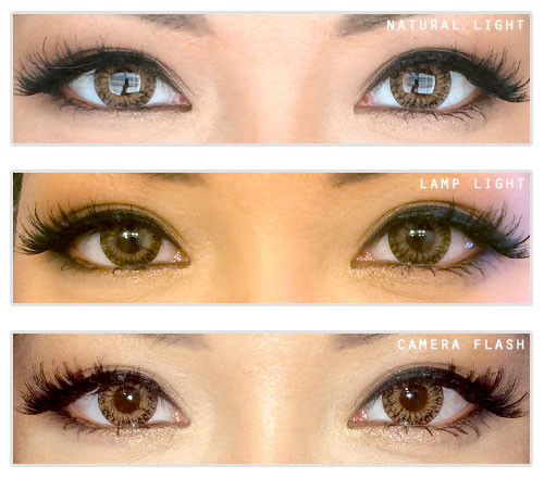 Geolica Euro Lady Light Brown Circle Lenses