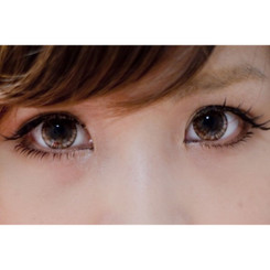 16.0mm Kitten Eyes Brown circle lenses by Beuberry