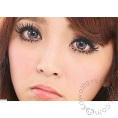 Barbie Luna Gray with lovely 3-tone color for bigger, dolly eyes.