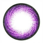 Geo Hurricane Violet circle lenses for bigger eyes.