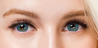 Colors of the Wind No.24 Blue Sky circle lenses by i-Codi.