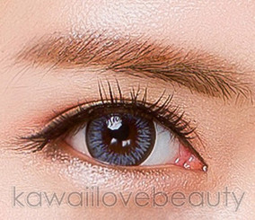 Cool Grey colored contact lenses / circle lenses.