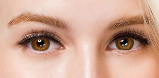 Colors of the Wind No.9 Caramel Brown circle lenses by i-Codi.