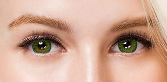 Colors of the Wind No.18 Evergreen circle lenses by i-Codi.