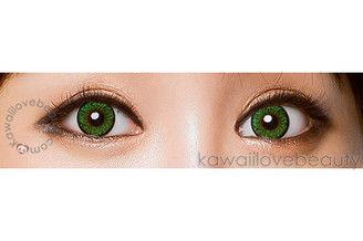 Colors of the Wind Evergreen circle lenses by i-Codi show up well on both dark and light eyes.