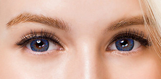 Colors of the Wind No.31 Royal Blue circle lenses by i-Codi.