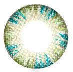 Beuberry Charm 4 Tones (Vassen Rainbow) Green colored contact lens