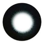 Barbie Pearl Black hyper-sized big eye circle lens.