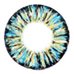 Barbie (Dueba) Luxury 3 Tones Blue circle lens.