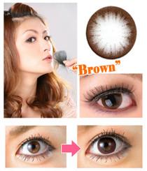 Circle Brown circle lenses by EOS Dolly Eye