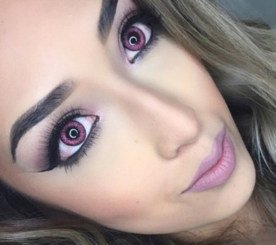 #1 Pink Lady color contacts by i-Codi Colors of the Wind.