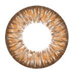 i-Codi Colors of the Wind No.11 Milky Orange circle lenses.