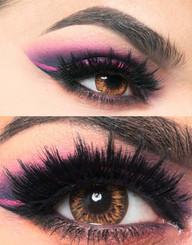 i-Codi Milky Orange colored contact lenses.