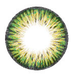 i-Codi Colors of the Wind circle lenses in Lime.