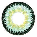 Sweety Nudy 3 Tones Green circle lenses.