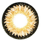 Sweety Nudy 3 Tones Brown circle lenses.